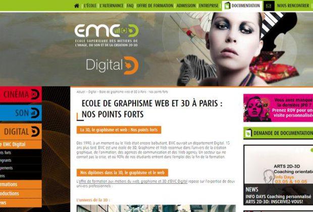 école de graphisme web à Paris